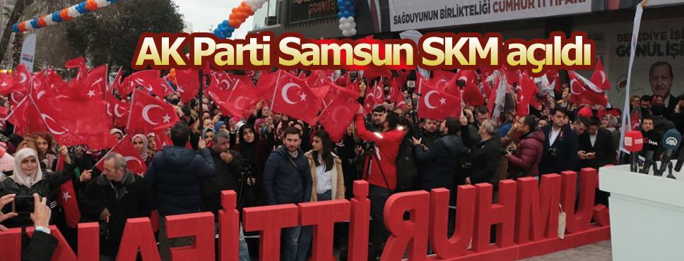 AK Parti Samsun SKM açıldı