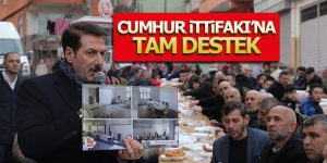 ANADOLU MAHALLESİNDEN CUMHUR İTTİFAKI'NA TAM DESTEK