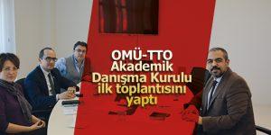OMÜ-TTO Akademik Danışma Kurulu ilk toplantısını yaptı