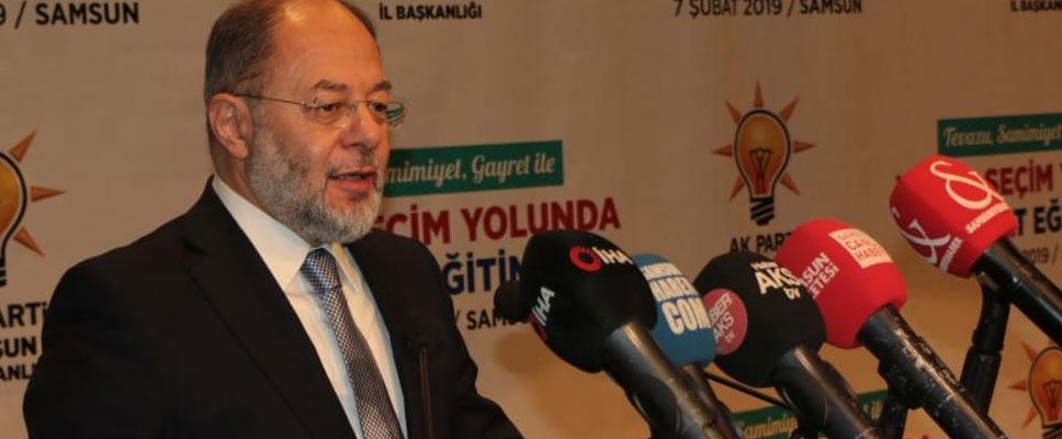 Teşkilat eğitimleri programı Samsun'da yapıldı