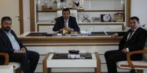 ASFED Başkan İkiz'i ziyaret etti
