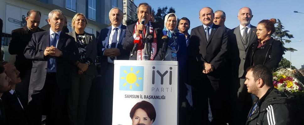 Hancıoğlu: 'Samsun'un baharı, Hayati Tekin'le gelecek'