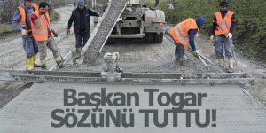 Tekkeköy Belediyesi Dur Durak Bilmiyor