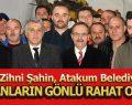 Başkan Zihni Şahin, Atakum Belediyesi'nde