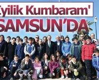 Başkan Zihni Şahin, İstanbul'dan gelen 'İyilik Melekleri'ni ağırladı
