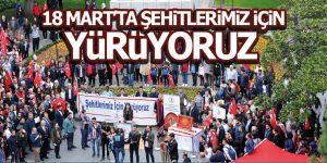 OMÜ'den 18 Mart'ta Şehitlerimiz için Büyük Yürüyüş