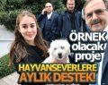 HAYVANSEVERLERE AYLIK DESTEK!