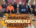 Murat İkiz Personeliyle Helallaştı