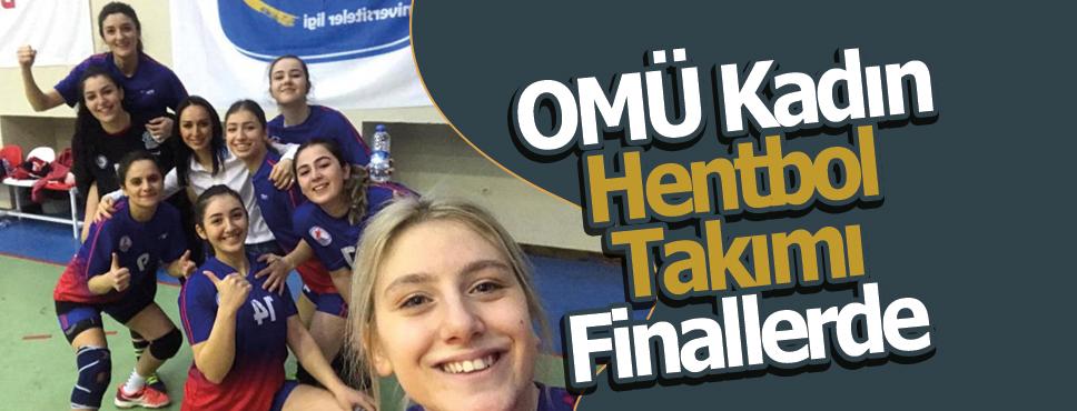 OMÜ Kadın Hentbol Takımı Namağlup Finallerde