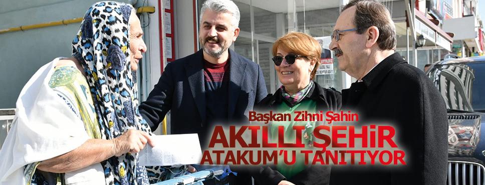 Başkan Zihni Şahin Akıllı Şehir Atakum'u Tanıttı