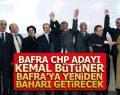 Bafra'da CHP Kemal Bütüner'i Aday Olarak Tanıttı