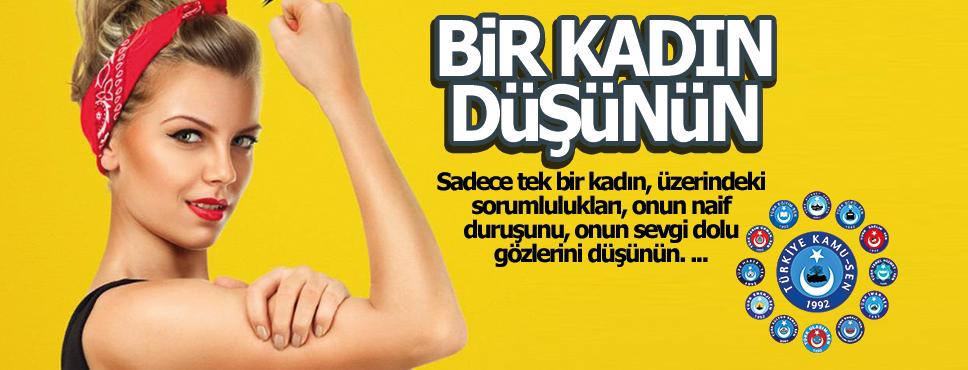 Ahmet Keskin, 'Bir Kadın Düşünün'