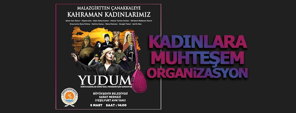 Büyükşehir Belediyesinden Kadınlara Yudum Konseri
