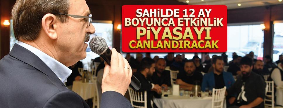 Zihni Şahin'dan Adnan Menderes esnafına garanti