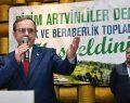 Artvinliler'den Başkan Zihni Şahin'e tam destek