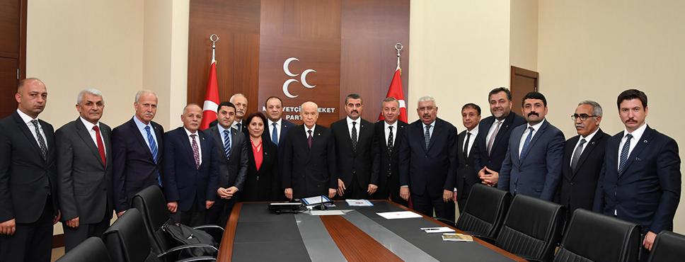 MHP Samsun Tam Kadro İstanbul'da Olacak
