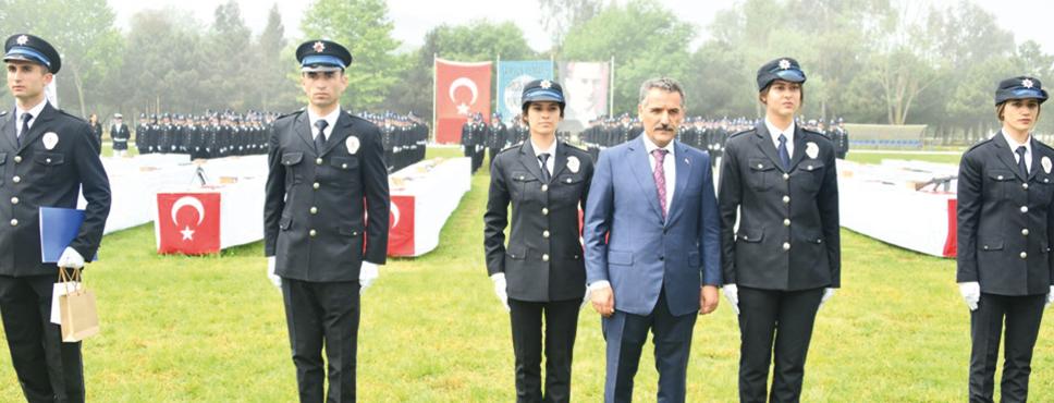 Samsun'da 343 Genç Polis Mezun Oldu