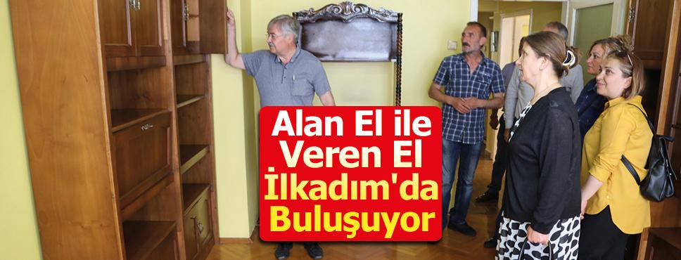 Alan El ile Veren El İlkadım'da Buluşuyor