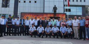 Atakum Belediyesi zabıtasının gurur günü