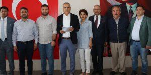 Meclis üyelerinden Başkan Deveci'ye destek