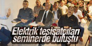 YEDAŞ'tan elektrik tesisatçılarına seminer