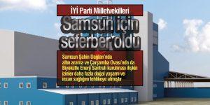 İYİ Parti Milletvekilleri Samsun için seferber oldu