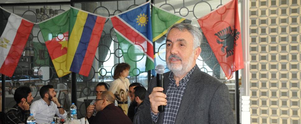 Rektör Bilgiç Uluslararası Öğrencilerle buluştu