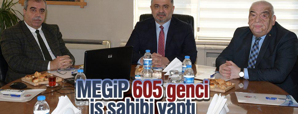 MEGİP 605 genci iş sahibi yaptı