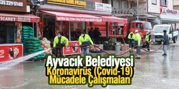Ayvacık Belediyesi Koronavirüs (Covid-19) Mücadele Çalışmaları