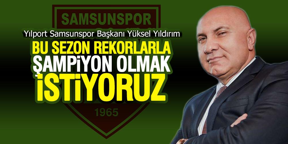Samsunspor Başkanı Yıldırım,'Samsunspor Özel Programı'na Konuk Oldu