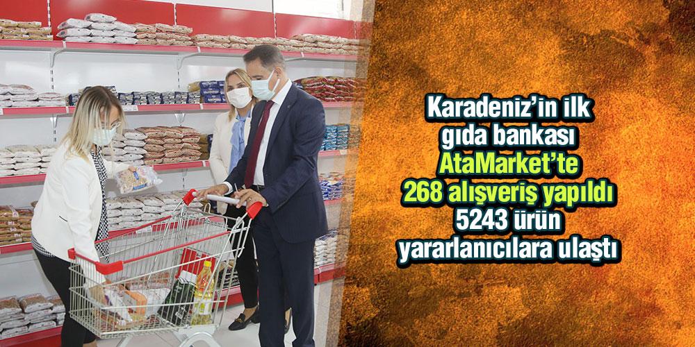 Atakum Belediyesi AtaMarket Gıda Bankası
