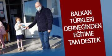 Balkan Türkleri Derneğinden Eğitime Tam Destek