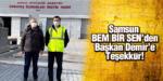 Samsun BEM BİR SEN'den Başkan Demir'e Teşekkür!