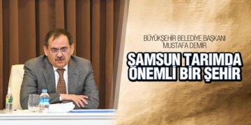 Başkan Demir 'Tarımda bulunduğumuz yeri yükseltmeliyiz'