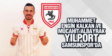 Yılport Samsunspor'a İki Yeni İsim Daha Katıldı