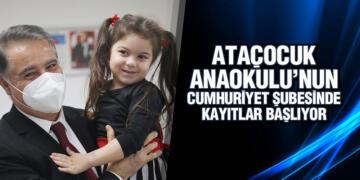 AtaÇocuk Anaokulu'nun Cumhuriyet şubesinde kayıtlar başlıyor