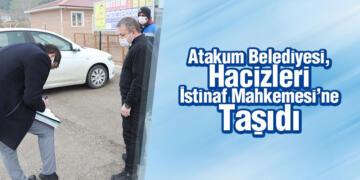 Atakum Belediyesi, Hacizleri İstinaf Mahkemesi'ne Taşıdı