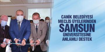 Canik Belediyesi Meclis Üyelerinden Samsun Üniversitesine Anlamlı destek