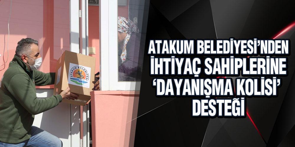 Atakum'da İki Günde Bin Aileye Dayanışma Eli Uzandı