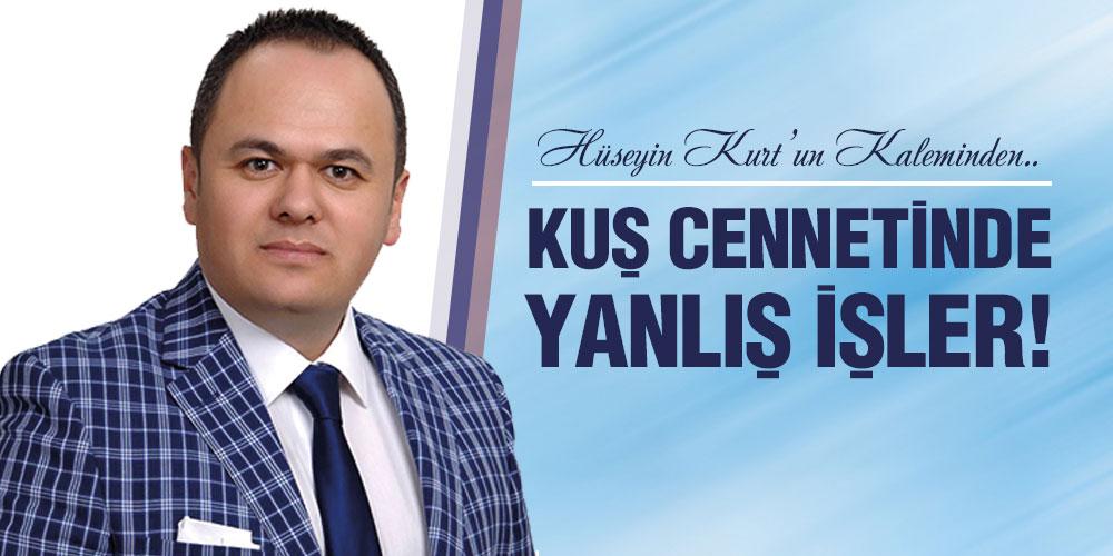 KUŞ CENNETİNDE YANLIŞ İŞLER!