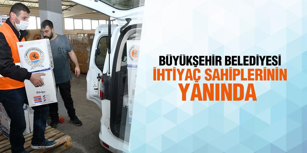Samsun Büyükşehir'den Ramazan Yardımı