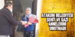 Atakum Belediyesi Şehit Ve Gazi Annelerini Unutmadı