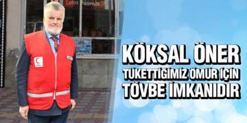 Öner'den Kadir Gecesi Mesajı