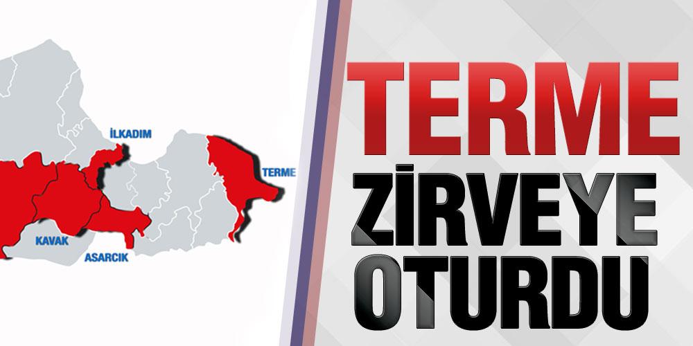 Samsun'da Terme Vaka Sayısı İle Lider