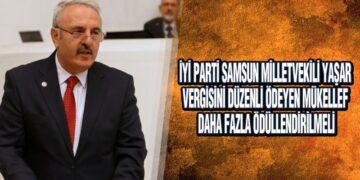 Yaşar, 'Vergisini Düzenli Ödeyenler Ödüllendirilmeli'