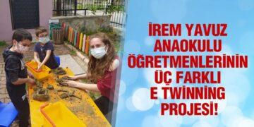 İrem Yavuz Anaokulu Öğretmenlerinin Üç Farklı E Twinning Projesi!