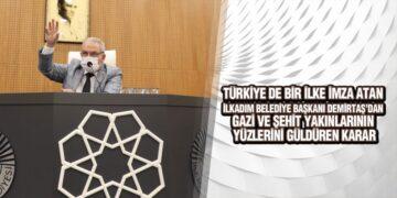 Başkan Demirtaş, 'Şehit Ve Gazilerimizi Abonelik Ücretlerinden Muaf Tutacağız'