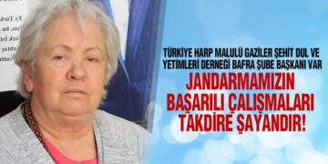 Başkan Saadet Var'dan Jandarma'nın Kuruluş Yılı Mesajı