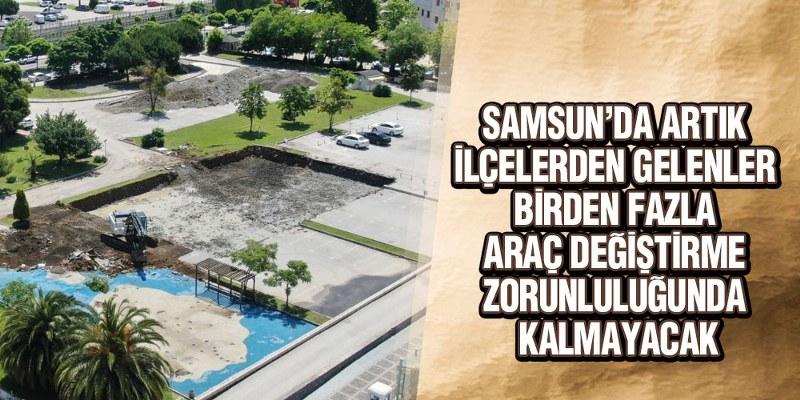 Samsun'da Toplu Ulaşımda Yeni Dönem