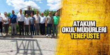 Atakum Okul Müdürleri 'Tenefüste'